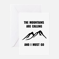 Mountains Must Go Greeting Cards (Pk of 20)