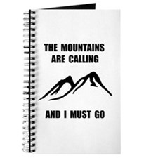 Mountains Must Go Journal