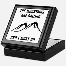 Mountains Must Go Keepsake Box