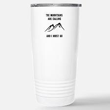 Mountains Must Go Travel Mug