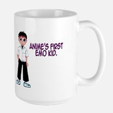 Anime's First Emo Kid Large Mug