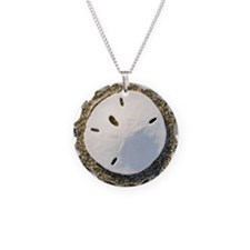 Sand Dollar in the Sand Necklace