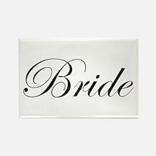 Bride's Rectangle Magnet
