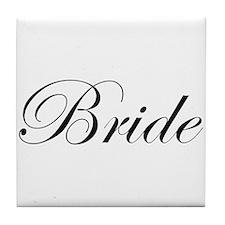 Bride's Tile Coaster