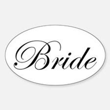 Bride's Decal