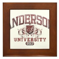 Anderson Class of 2013 University Framed Tile
