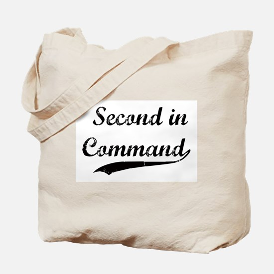 Second in Command Tote Bag
