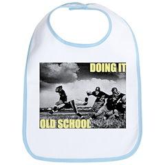 Doing It Old School Bib