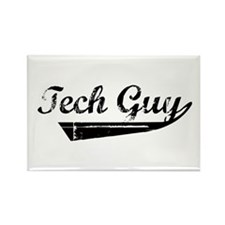 Tech Guy Rectangle Magnet