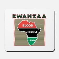 Kwanzaa Blood People Land Design Mousepad