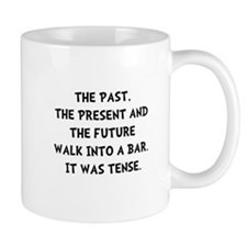 Tense Walk Into Bar Mug