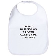 Tense Walk Into Bar Bib