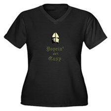 Popein aint Easy Plus Size T-Shirt