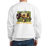 Just a Scratch Backside Sweatshirt
