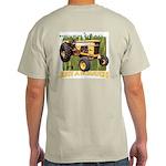Just a Scratch Backside Ash Grey T-Shirt