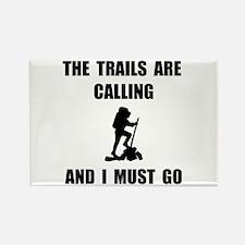Trails Calling Go Rectangle Magnet (10 pack)