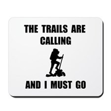Trails Calling Go Mousepad