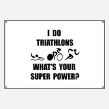 Triathlon Super Power: Banner