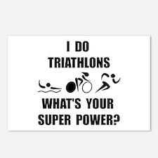 Triathlon Super Power: Postcards (Package of 8)