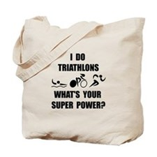 Triathlon Super Power: Tote Bag