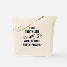 Triathlon Super Power: Tote Bag
