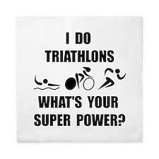 Triathlon Super Power: Queen Duvet