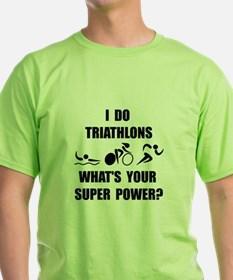 Triathlon Super Power: T-Shirt