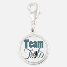 Team Toto Wizard of OZ Silver Round Charm