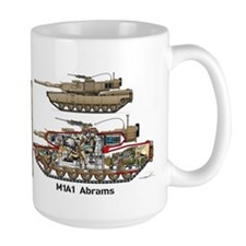 M1A1 Abrams - Desert Mug