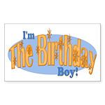 Birthday Boy Rectangle Sticker