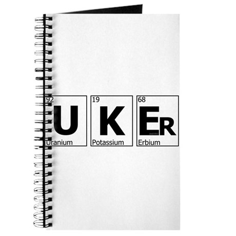UKEr as Elements on the Periodic Table Journal