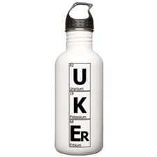 UKEr as Elements on the Periodic Table Water Bottle