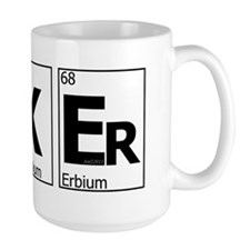 UKEr as Elements on the Periodic Table Mug