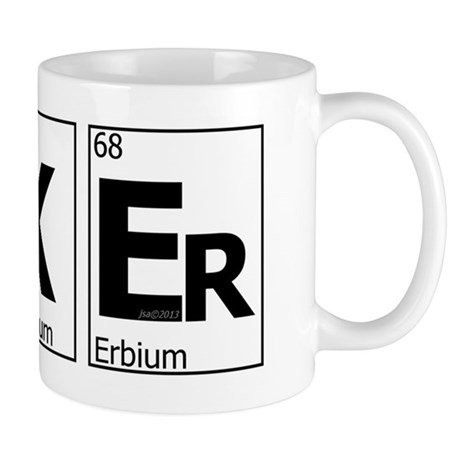 UKEr as Elements on the Periodic Table Mug