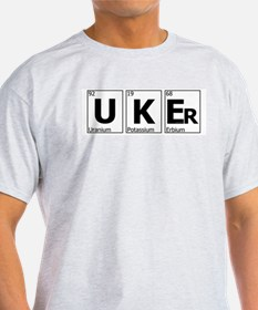 UKEr as Elements on the Periodic Table T-Shirt