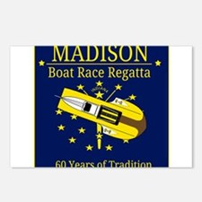 Madison Boat Race Regatta Postcards (Package of 8)