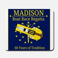 Madison Boat Race Regatta Mousepad