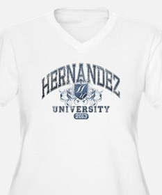 Hernandez last name University Class of 2013 Plus
