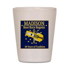 Madison Boat Race Regatta Shot Glass