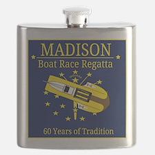 Madison Boat Race Regatta Flask