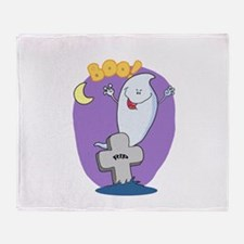 Boo! Throw Blanket