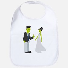 Frankenstein & Bride Bib