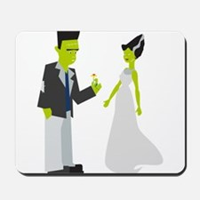 Frankenstein & Bride Mousepad