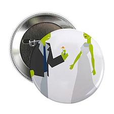 """Frankenstein & Bride 2.25"""" Button"""