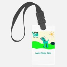 My Tiny Teal Deer Luggage Tag