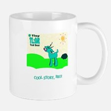 My Tiny Teal Deer Mug