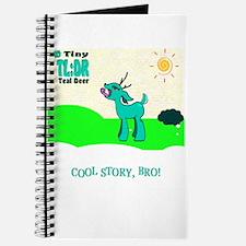 My Tiny Teal Deer Journal