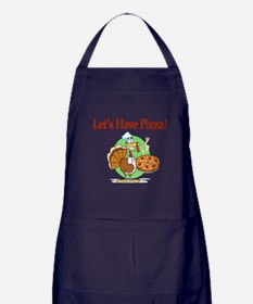 Lets Have Pizza Apron (dark)