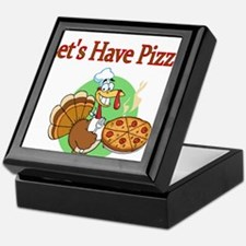 Lets Have Pizza Keepsake Box
