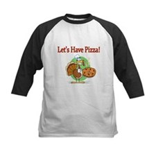 Lets Have Pizza Baseball Jersey